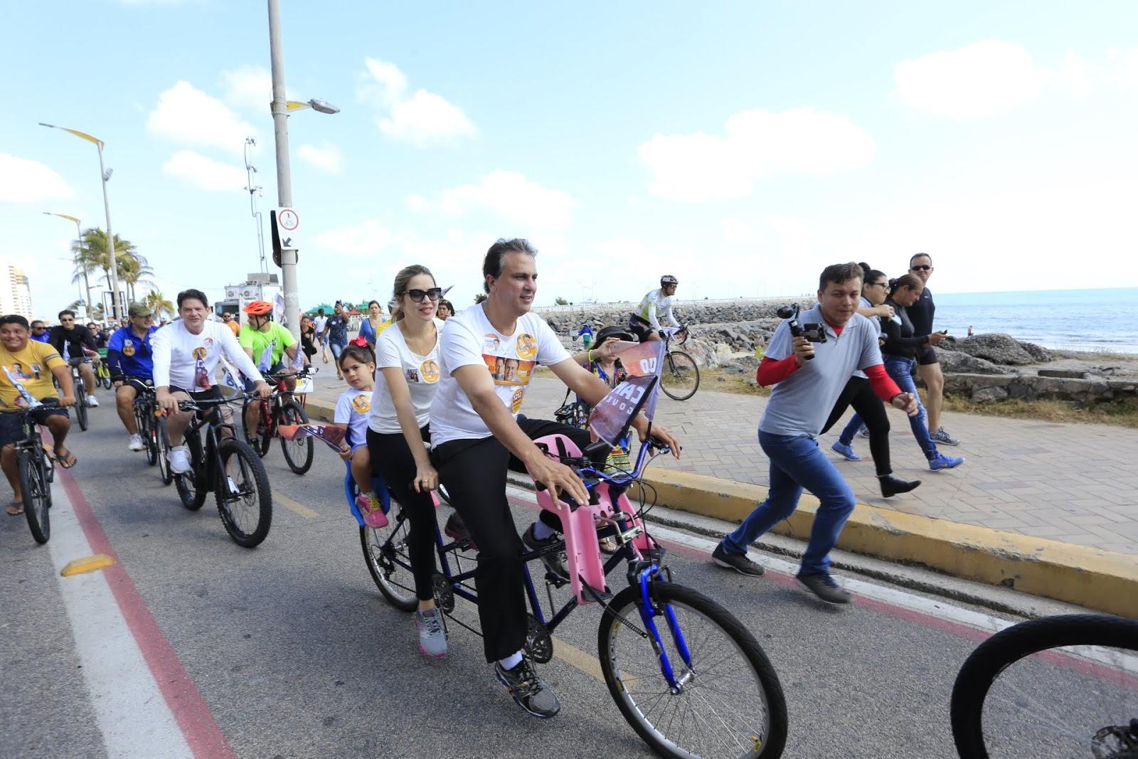 5f2b90b0e Camilo Santana destaca mobilidade urbana durante passeio ciclístico ...
