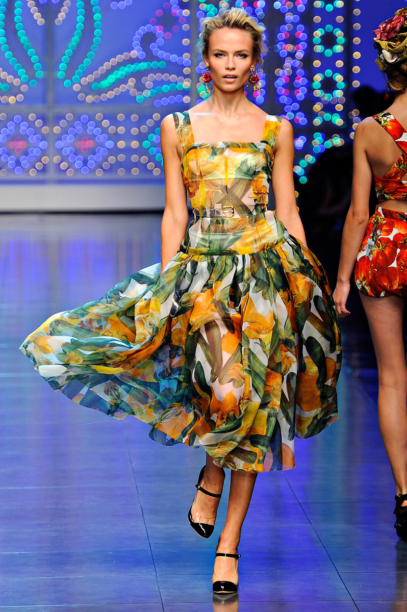 Dasha's Fashion: Dolce & Gabbana Spring-summer 2012