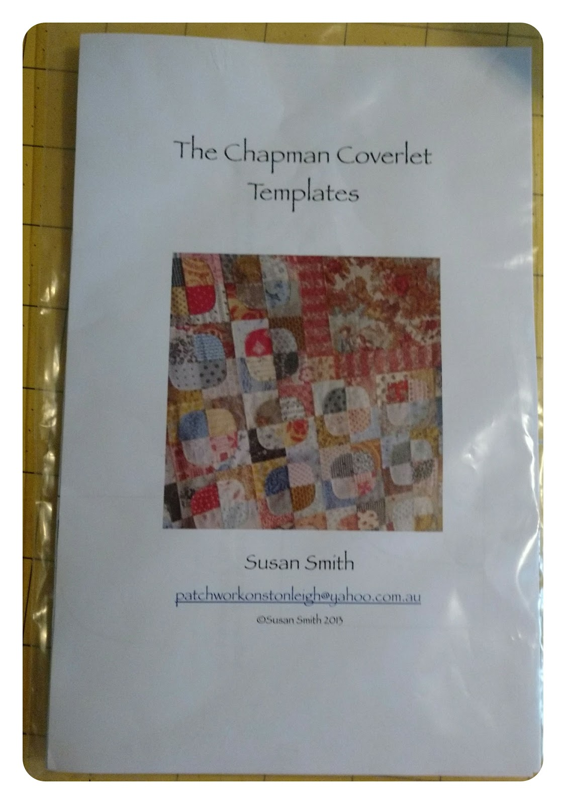 Quilting at the Cro\'s Nest: The Chapman Coverlet