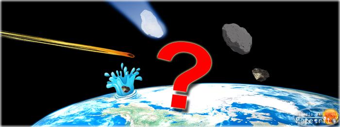 qual é a diferença entre meteoro, meteorito, asteroide, cometa...