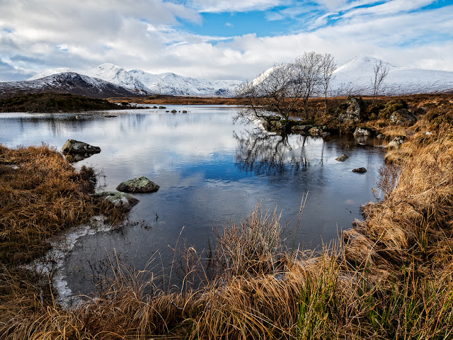 Photo of another view of Black Mount on Rannoch Moor
