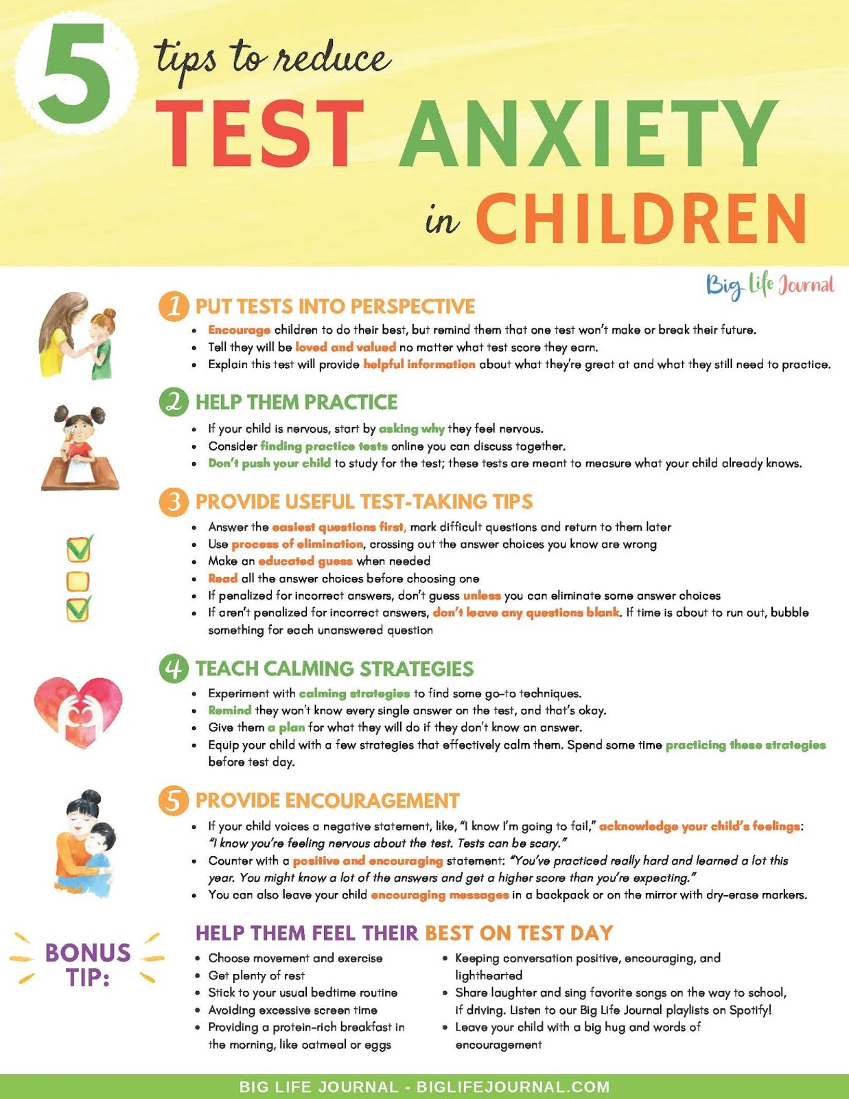 Tips For Dealing With Test Anxiety