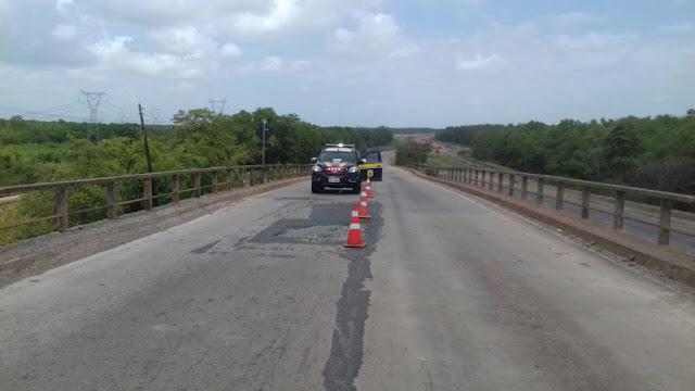 Atenção motoristas! Ponte do Estreito dos Mosquitos será interditada a partir desta segunda-feira, 27, até o dia 22 de dezembro
