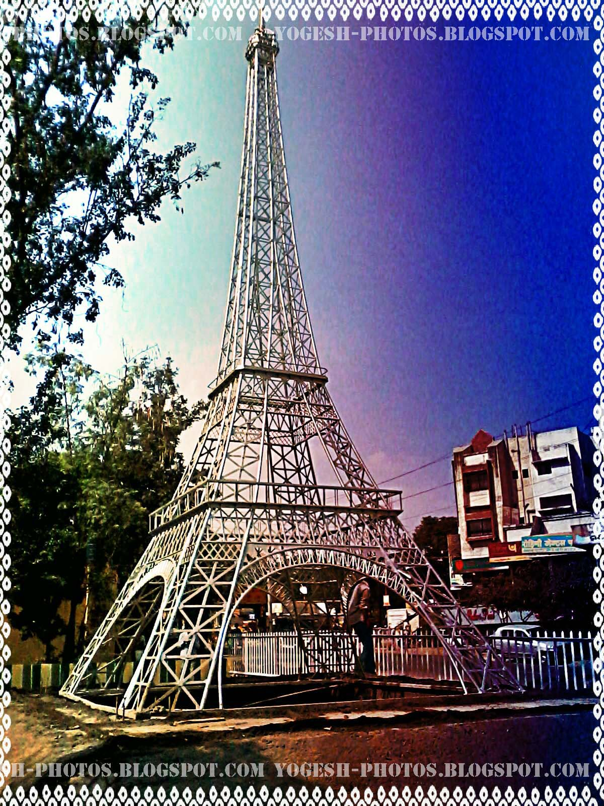 Replica of The Eiffel Tower, Aurangabad, Maharashtra, India ...