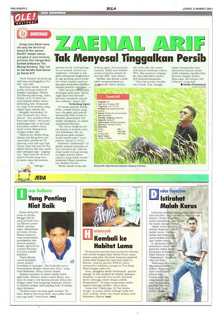 LIGA INDONESIA: BINTANG ZAENAL ARIF
