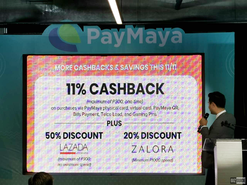 Lazada and Zalora cashbacks on PayMaya!