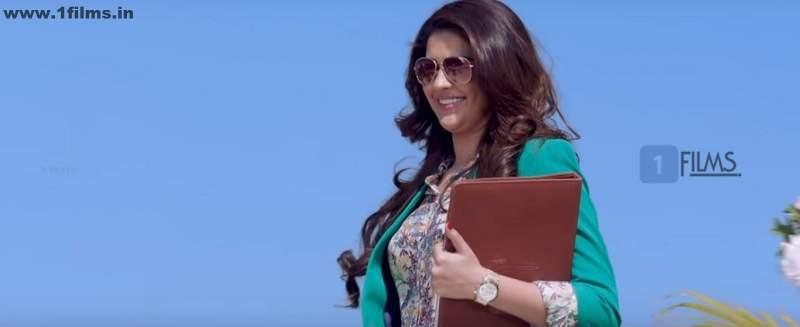 Deeksha Seth in a still from Movie Jaggu Dada