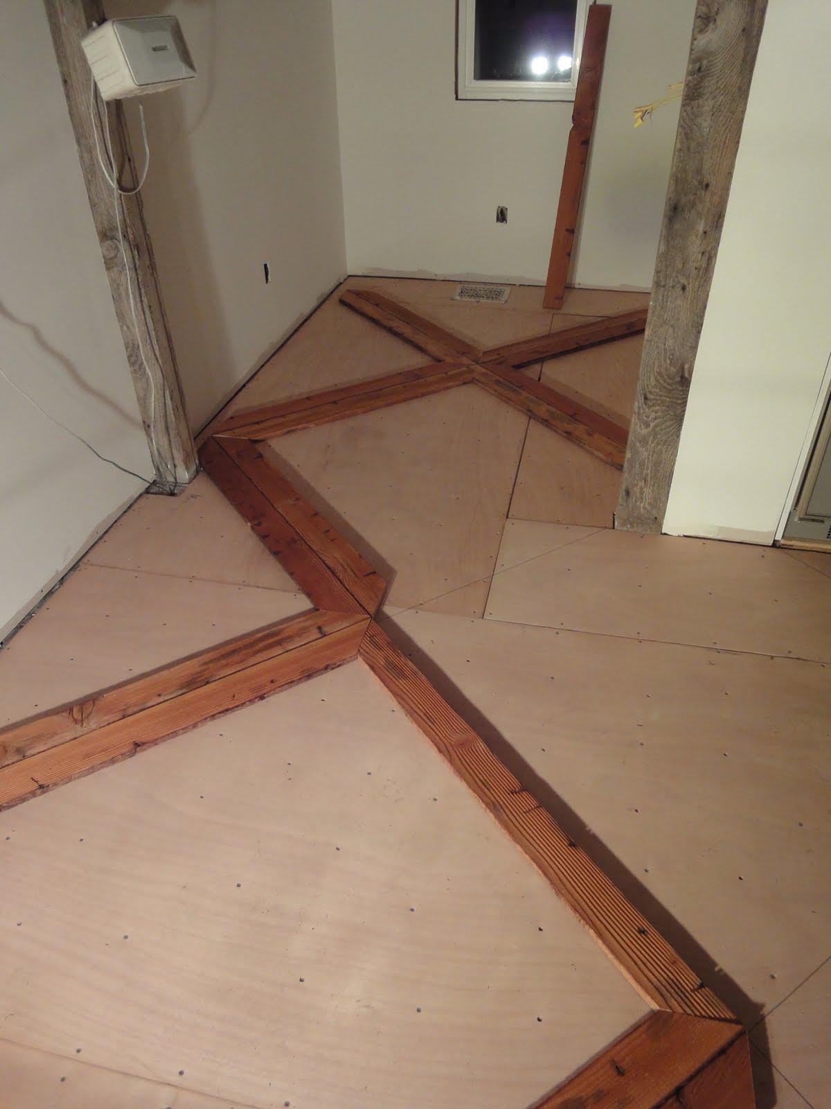 1900 Farmhouse Kitchen Floor