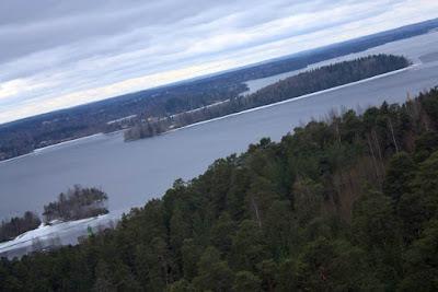 Lake beside Tampere