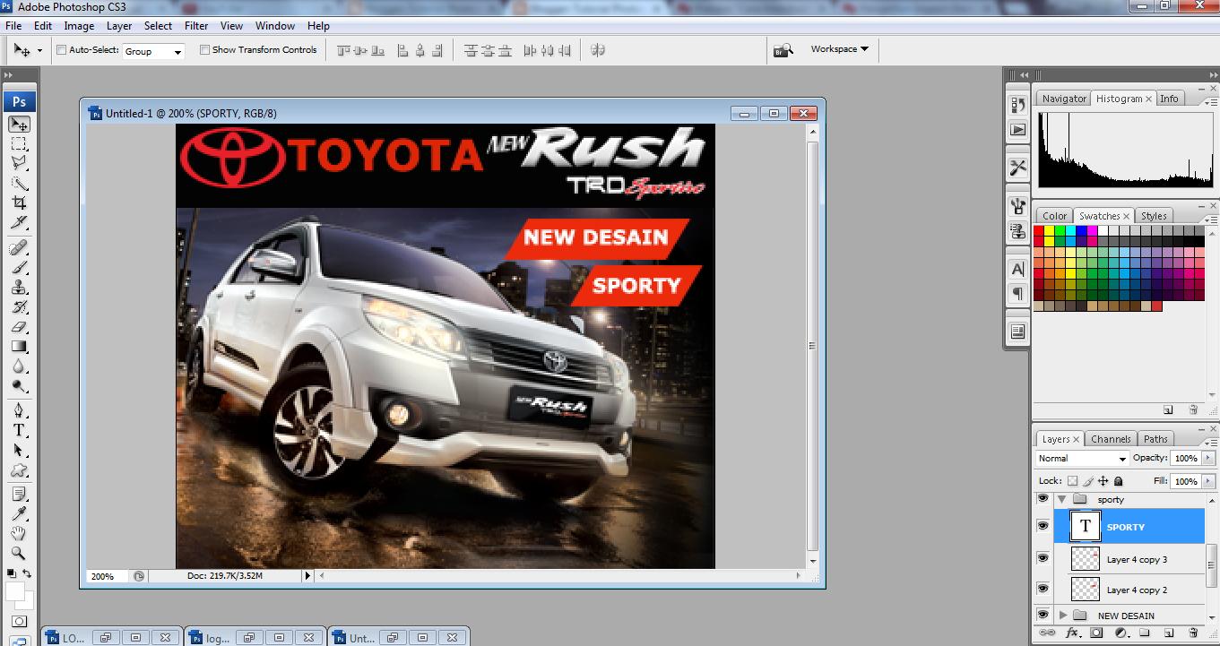 Cara Membuat Banner Iklan Animasi Dengan Photoshop CS3 TutorAsem