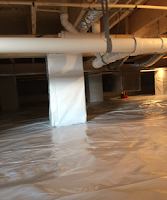 Conditioned Crawl Space with added storage - view 2