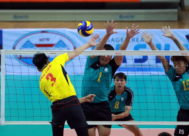 Cúp các CLB nam vô địch châu Á 2018: Sanest Khánh Hòa đã thắng