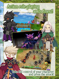 Sebuah cerita petualangan seorang Gladiator dari Glaive yang namanya tergantung dari player Unduh Game Android Gratis Adventures of Mana apk + obb