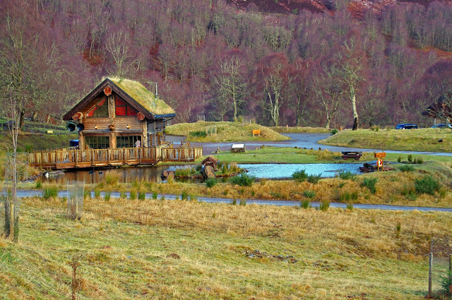 Eagle Brae Log Cabins Scottish Highlands Scotland