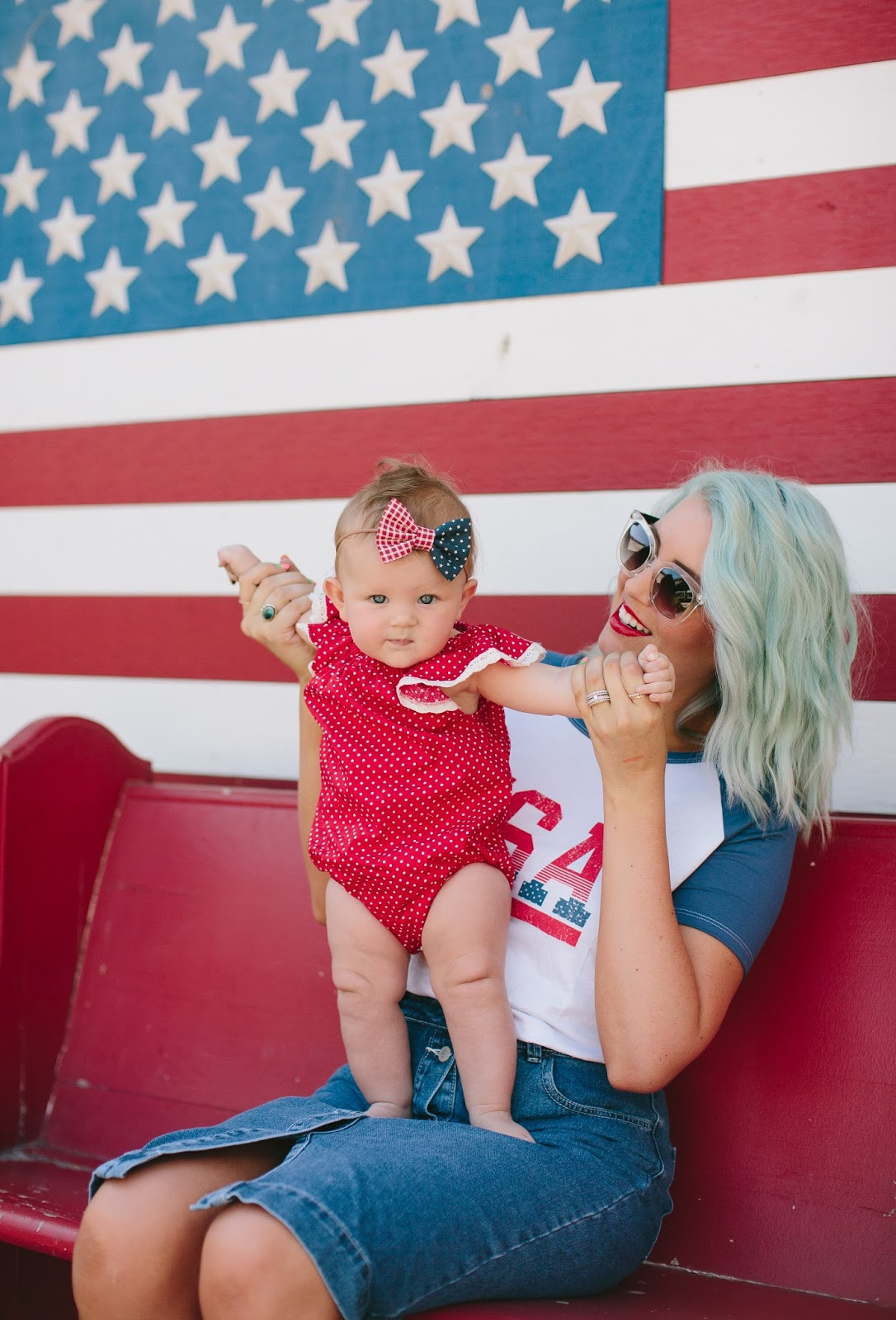 Mommy and Me, Summer Outfits, Patriotic Outfits