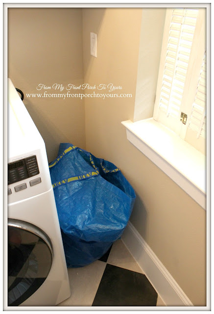 Farmhouse Laundry Room-Built-In coming-From My Front Porch To Yours