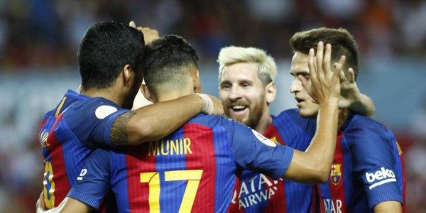 Ida Supercopa de España: Victoria por 0-2 del Barça