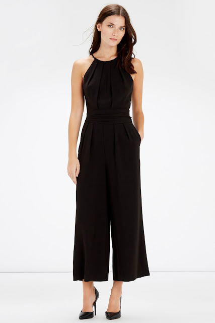 warehouse black jumpsuit,
