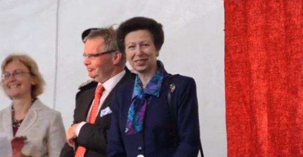 Her Royal Highness The Princess Royal Visits Lincoln Castle