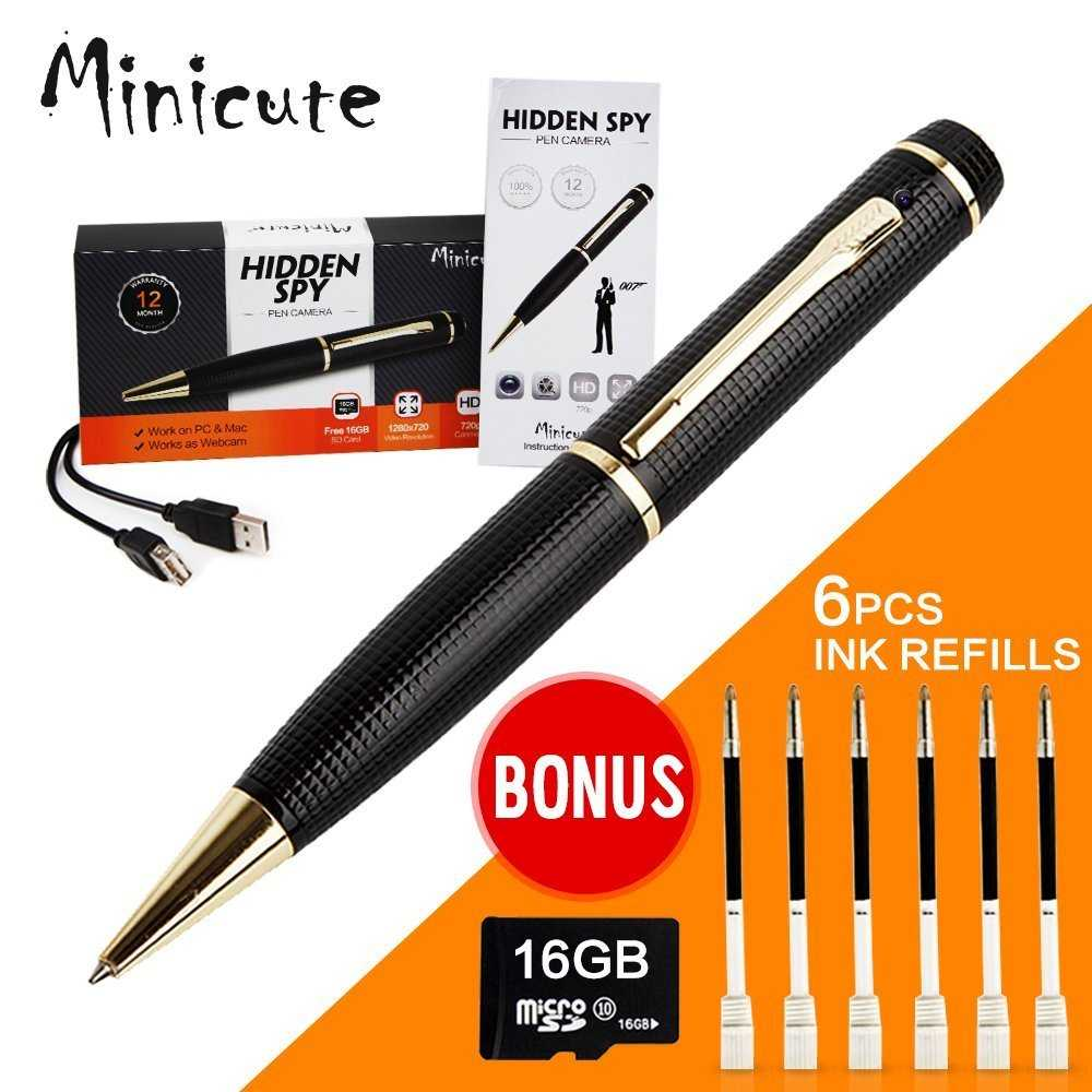 HD 1280x720 P Hidden Spy Camera Pen Review for Spy Camera Pen With Voice Recorder  268zmd