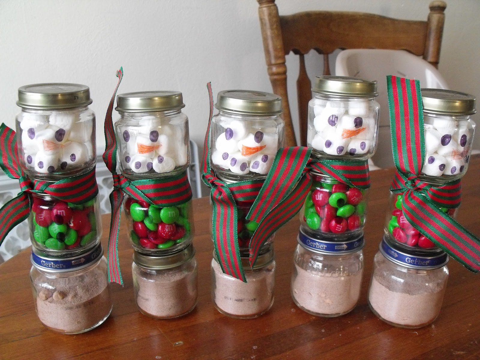 Kate S Great Crafts Homemade Christmas Presents Snowman