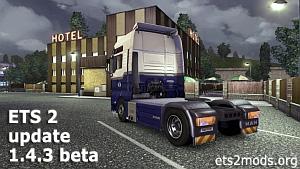 Euro Truck Simulator 2 - patch 1.4.3 BETA