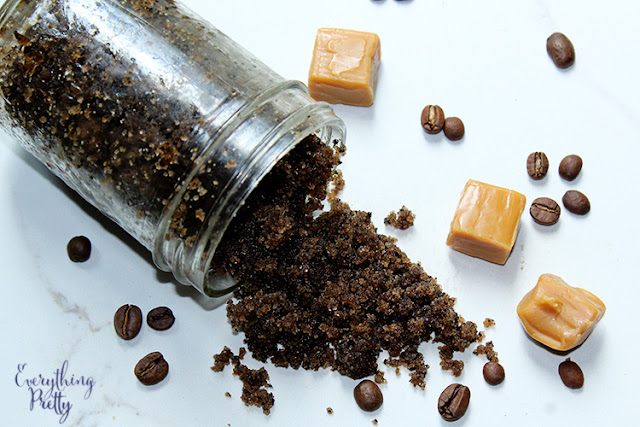Caramel Coffee Sugar Scrub Recipe