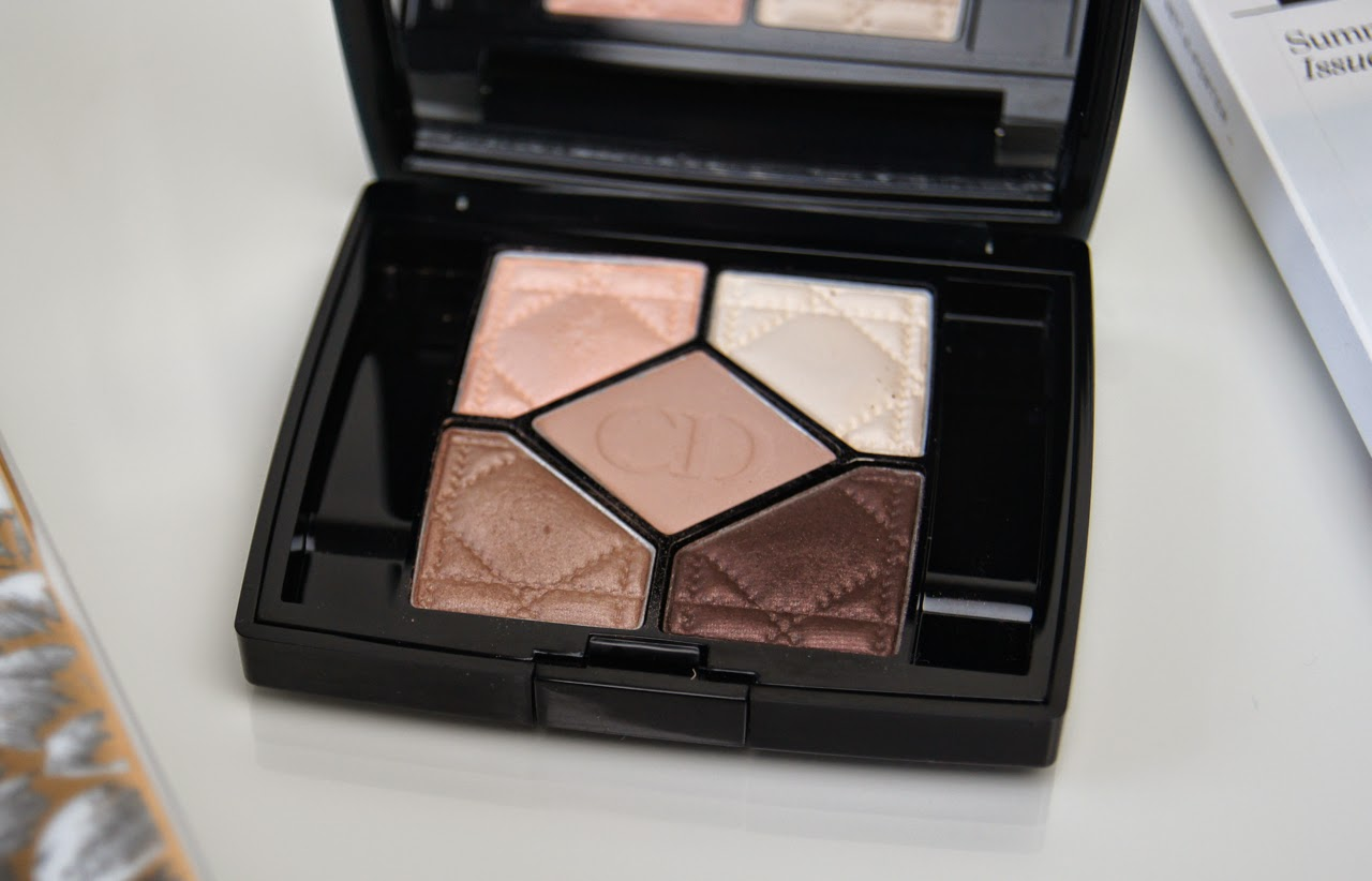 dior 30 montaigne 5 couleurs eyeshadow palette review