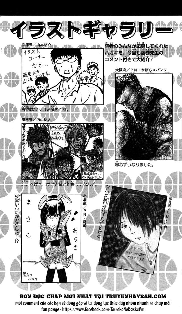 Kuroko No Basket bonus trang 8