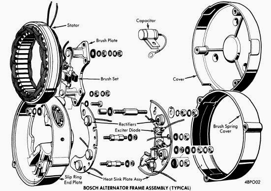 Typical Alternator Wiring Diagram