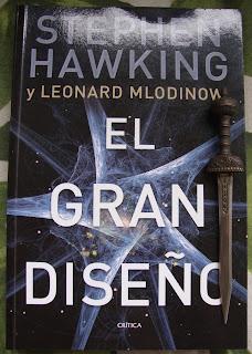 Portada del libro El gran diseño, de Stephen Hawking y Leonard Mlodinow