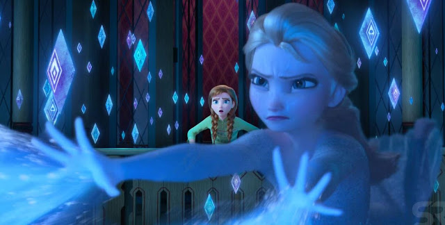 Gambar Ratu Elsa Melatih Kekuatan Esnya Frozen 2 Wallpaper HD