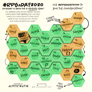 RPG a Day 2020 image