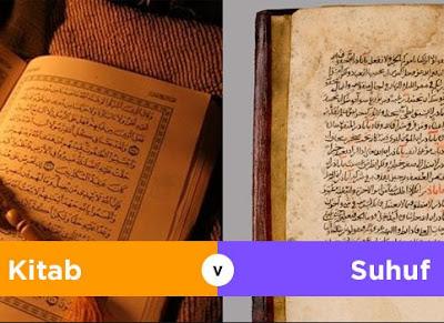 Pengertian Kitab Dan Suhuf Serta Persamaan dan Perbedaanya