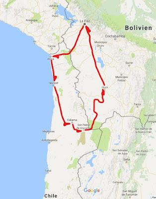 Atacama Wüste Karte.Lohrsbolivien Chile Teil 1 Silvester Strand Atacama Wüste