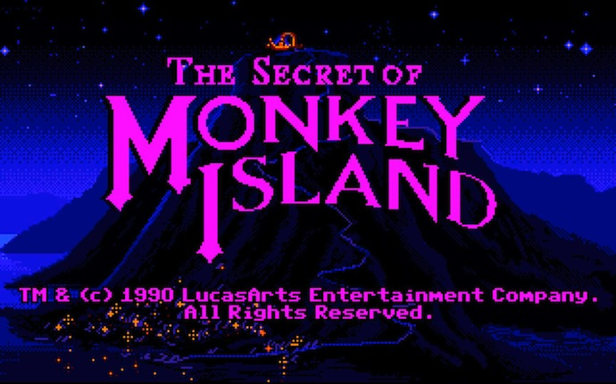 The Secret of Monkey Island PC DOS