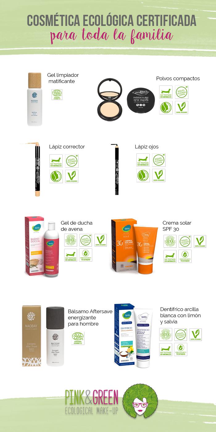 Pink and Green cosmética ecológica + Sorteo
