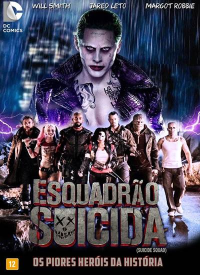 Download Esquadrão Suicida AVI Dublado HDTS Torrent
