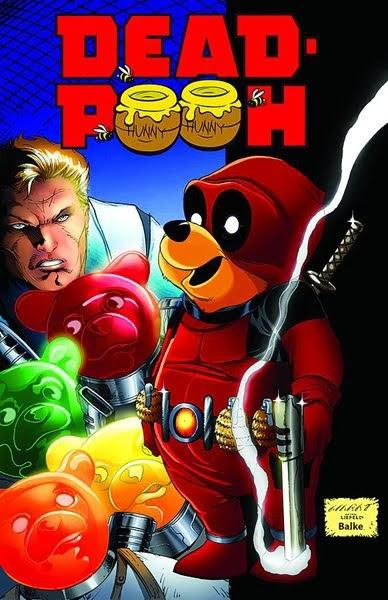 Dead Pooh Parody Comic Deadpool Bugle
