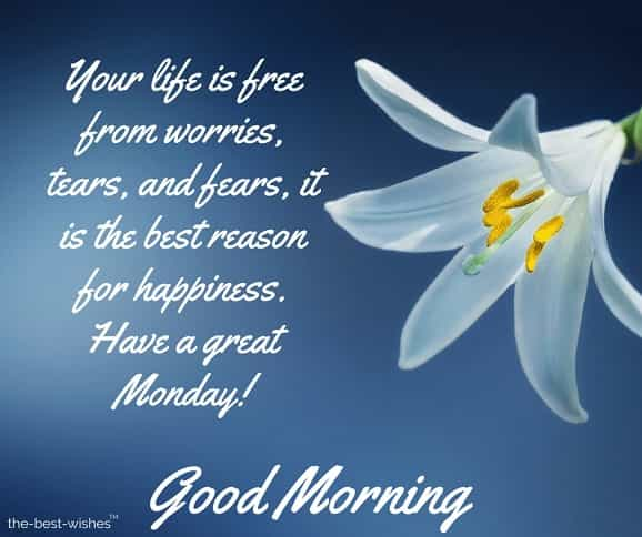 good morning monday sms