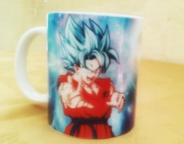 Dragon Ball Goku Magic Mug Taza Mágica