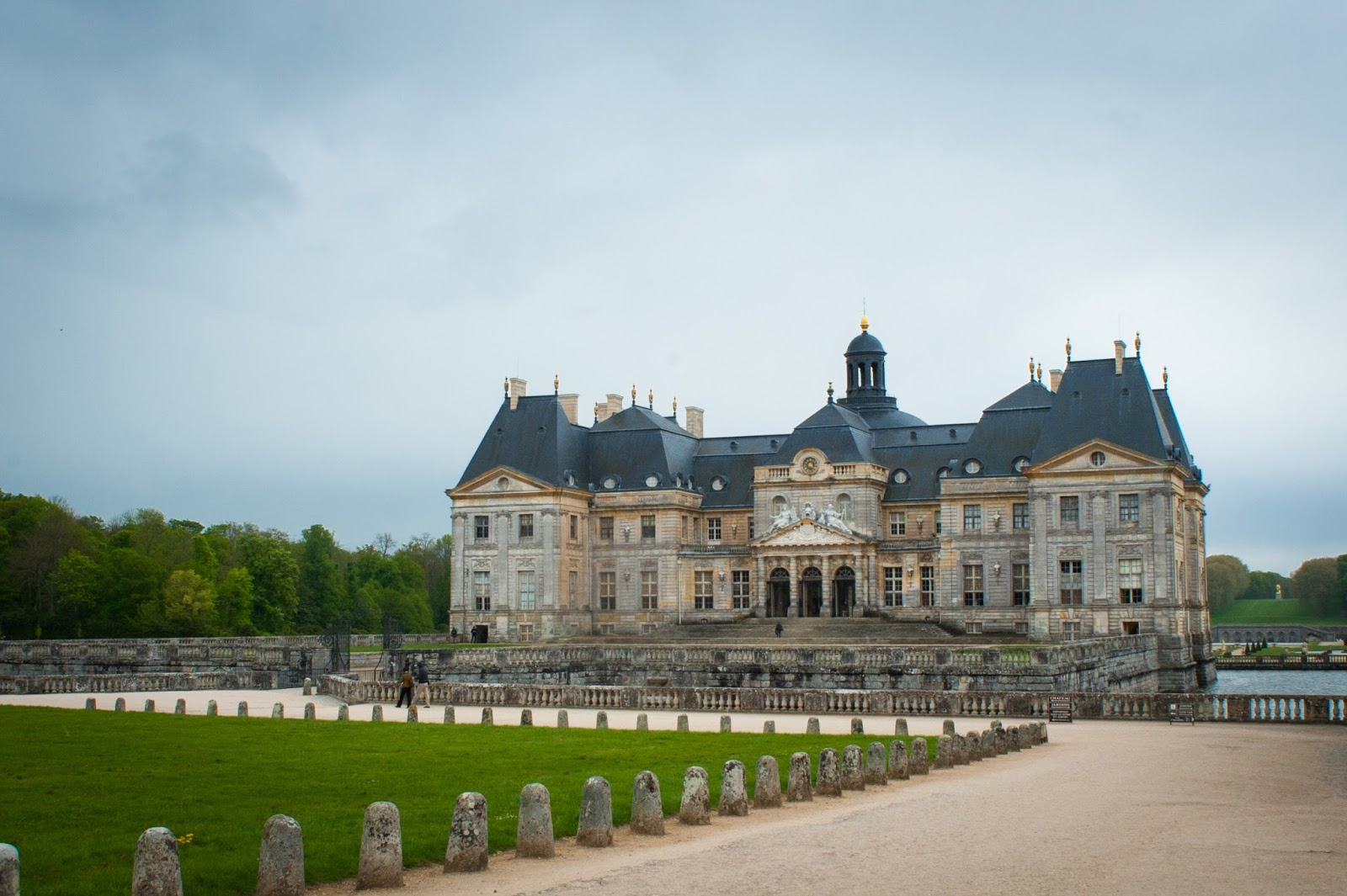 The Vaux Le Vicomte Castle Outside Paris in Maincy France