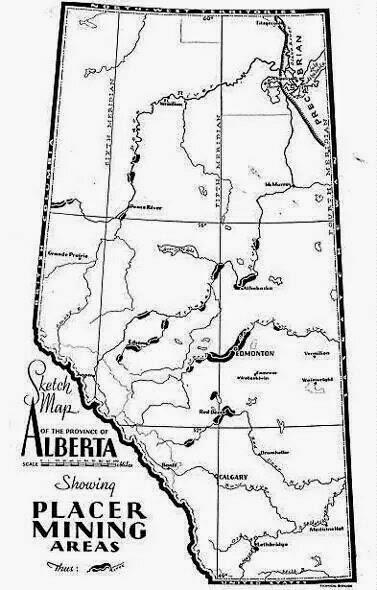Prospectors Canada: Where to find Gold in Alberta, Canada