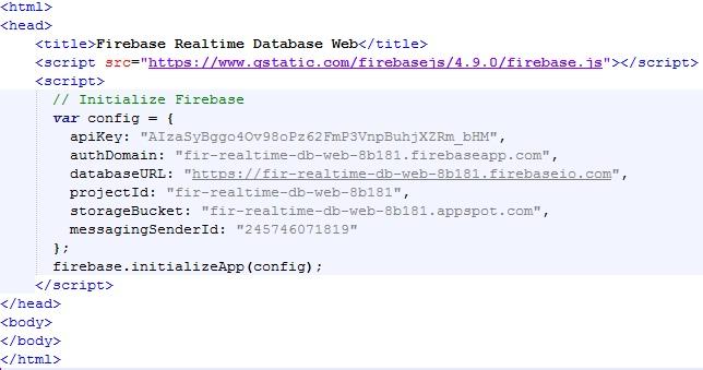 Building a Web App CRUD using Firebase Realtime Database