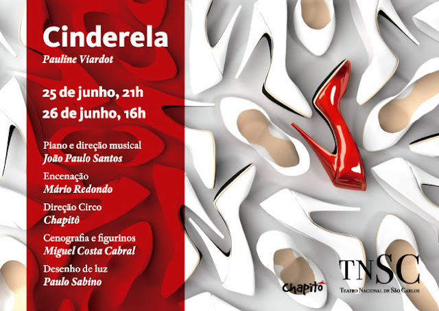 "Ópera cómica de ""Cinderela"" no TNSC"