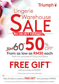Triumph Warehouse Sale 2016