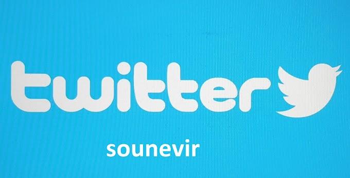 twitter souvenir.