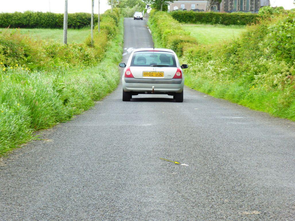 Car Rolls Uphill Uk