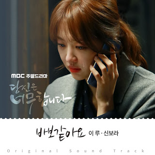 Lyric : ERU (이루) & Shin Bo Ra (신보라) - It's Stupid (바보같아요) (OST. You Are Too Much)