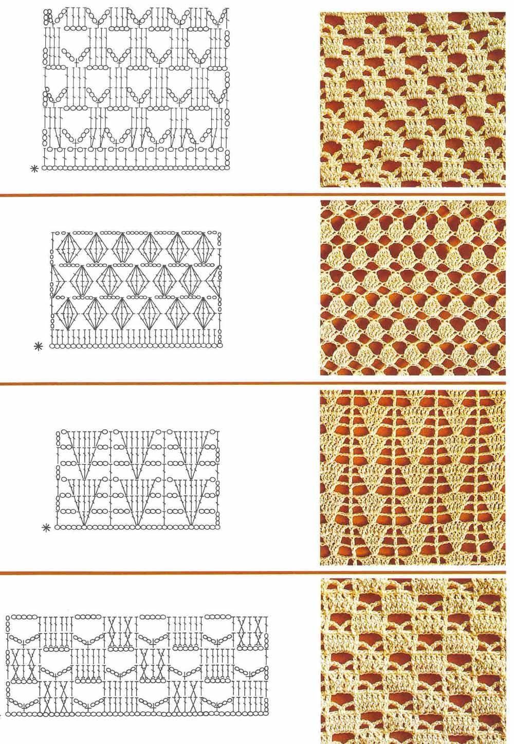 Mis tejidos en crochet y dos agujas (palitos): Patrones en Crochet ...